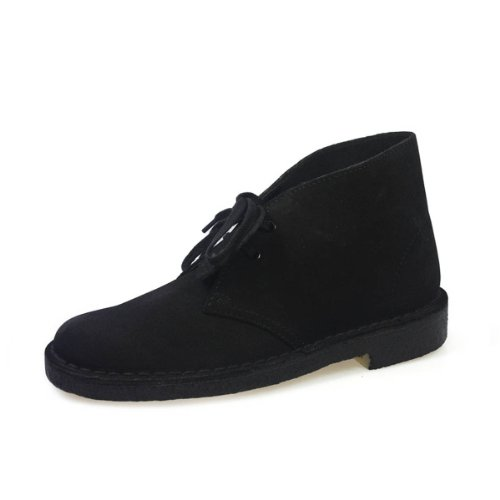 Clarks Originals Damen Desert Boots, Schwarz (Black), 38 EU