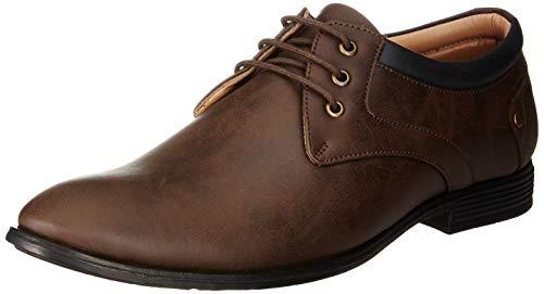 Centrino Men's 3380 Brown Formal Shoes - 6 UK (40 EU) (7 US) (3380-01)