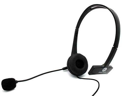 Earphone w Mic Wired Mono Headphone for Galaxy A01 A10e A11 A21 A20 A50 A51 A71 - Headset 3.5mm Single Earbud Hands-Free Compatible with Samsung Galaxy A71 5G A51 A50 A21 A20 A11 A10e A01