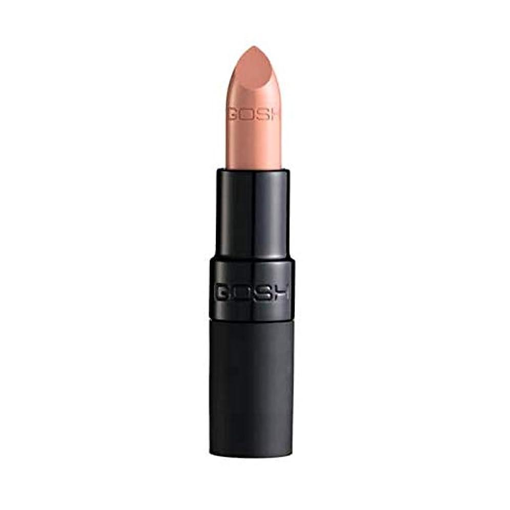 引き算彫刻家スタイル[GOSH ] おやっベルベットタッチ口紅マット赤ちゃんの唇001 - Gosh Velvet Touch Lipstick Matte Baby Lips 001 [並行輸入品]