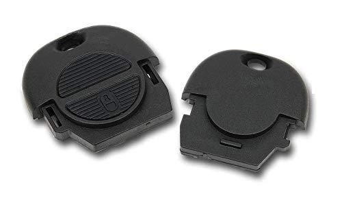 Shoppy Lab Compatible con Shell Cover Control Remoto Llave de Repuesto 2 Botones Coche Nissan Micra Almera Xtrail Qashqai Key Shell