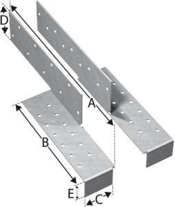 Simpson Strong-Tie Sparrenfußverbinder H - Preis/Satz