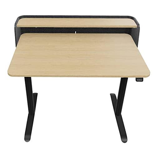Sedus SE:Desk Home, elektrisch höhenverstellbarer Schreibtisch fürs Home-Office, 120x70cm (Eiche/Anthrazit)