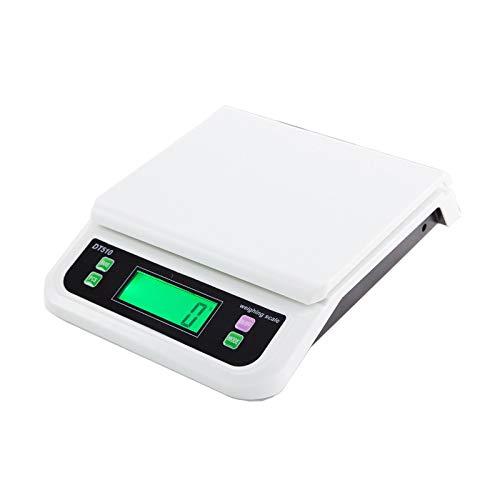 LYC Digitale keukenweegschaal, hoge precisie, 1 g, elektronische weegschaal, expresslevering, pakket platformweegschaal met LCD-diaplay en aantal Tara-eigenschappen