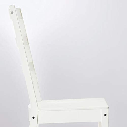 NORDVIKEN / NORDVIKEN Mesa y 2 sillas, blanco, 74/104 x 74 cm, resistente y fácil de cuidar. Conjuntos de comedor de hasta 2 plazas, mesas y escritorios, muebles ecológicos