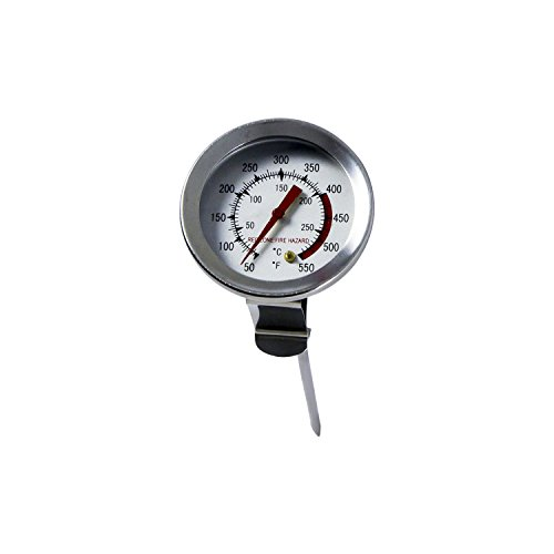 Chard DFT-5, 5 inch Deep Fry Thermometer, Stainless Steel