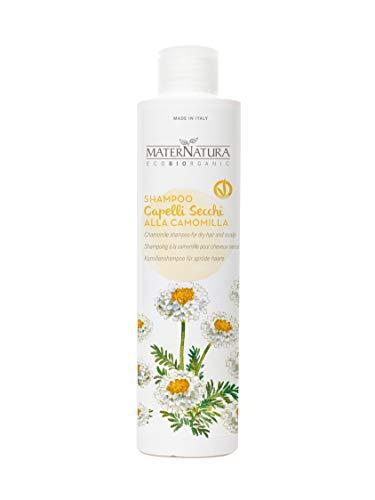 Maternatura Shampoo Capelli Secchi alla Camomilla, Beauty Routine Capelli Secchi - 250 Ml