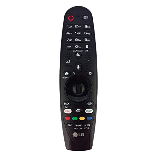 Genuine LG Magic Remote Control Voice Mate Magic Link Netflix Amazon Buttons for All 2018 UHD 4K Smart Televisions 43LJ554T 43UJ620V 43UJ6307 43UJ630V 43UJ632T 43UJ635 43UJ670V 43UJ701V 43UJ7507