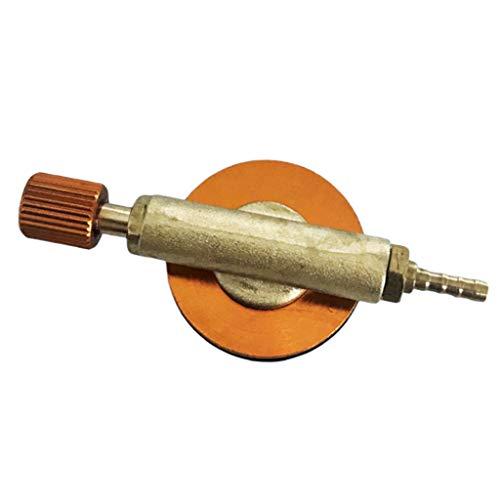 yotijar Adaptador de Carga para Cocina de Gas Exterior Válvula de Inflado