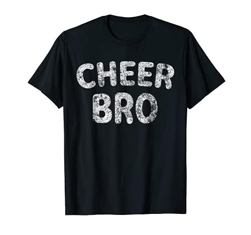 Regalo lindo del día del hermano divertido Cheer Bro Camiseta
