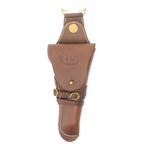 US WWII M1912 Colt 1911 .45 Holster Embossed US