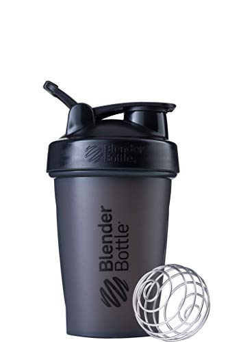 BlenderBottle Classic Loop Top Shaker Bottle, 20oz, Black