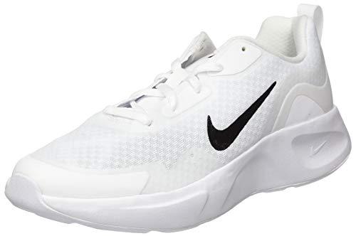 NIKE WearAllDay (GS), Sneaker, White/Black, 36 EU