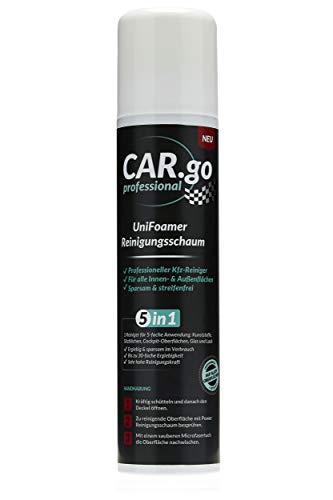 CAR.go professional - Kfz-Reinigungsschaum, Felgenreiniger, UniFoamer, Drucksprühdose (300 ml)
