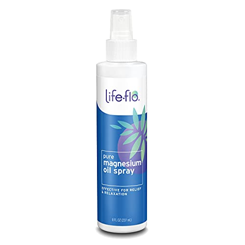 Life-Flo Pure Magnesium Oil | 100% Pure Magnesium Chloride Spray from...