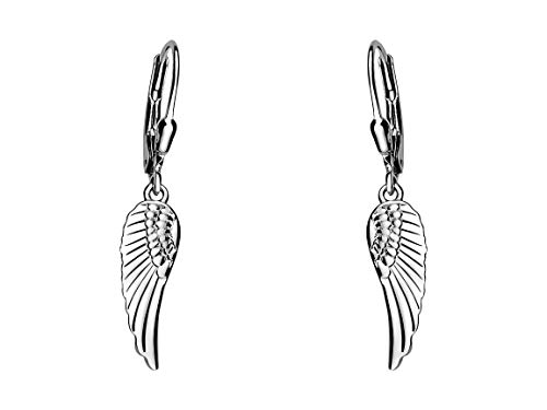 SOFIA MILANI Damen-Ohrhänger Engel Flügel 925 Silber 20527