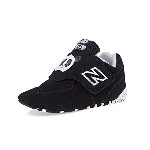 New Balance CV574MCK, Walking Shoe Unisex-Baby, Negro/Blanco