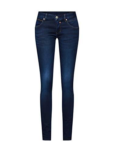 Herrlicher Damen Touch Slim-5705 D9668 Slim Jeans, Blau (Dull 044), W25/L30