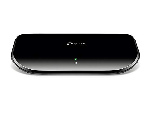 TP-Link スイッチングハブ ギガビット 5ポート 10/100/1000Mbps プラスチック筺体 3年保証 TL-SG1005D