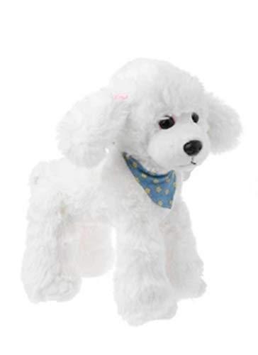 Marni's - Peluche Cachorro Perro de Lana (Caniche) - 25cm de