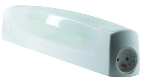 L'Ébénoïd EBE255285 wandlamp met schakelaar, TL-buis, 2G7, 11 W, incl. stopcontact, 2-polig