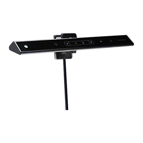BenQ ScreenBar Lite E-Reader Monitor Laptop Licht, LED Laptop Lampe mit automatischer Dimmung und Hue Anpassung, Laptop Tastatur Licht, Matt Schwarz, USB Lampe für Laptop