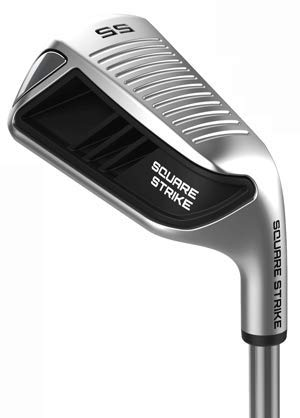Square Strike Wedge, Black -Right Hand Pitching & Chipping Wedge for Men & Women -Legal for Tournament Play -Engineered by Hot List Winning Designer -Cut Strokes from Your Golf Game Fast
