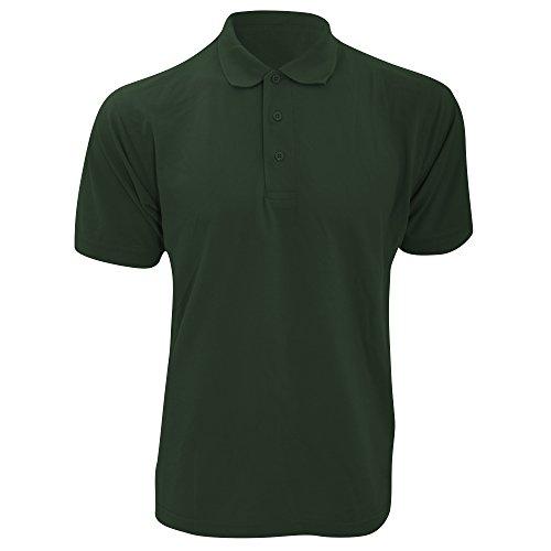 KUSTOM KIT Kustom Kit Klassic Superwash Polo-Shirt (M) (Flaschengrün)