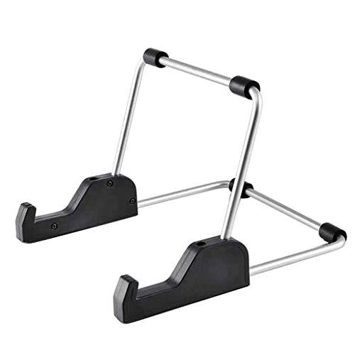 Soporte plegable de aleación de aluminio para tablet de 7 a 11 pulgadas, soporte de metal portátil y ajustable para ordenadores portátiles de 7 a 11 pulgadas, accesorios