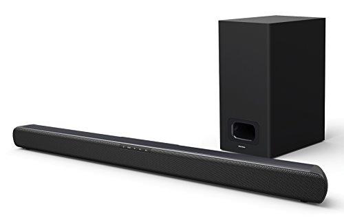 Karcher SB 800S TV Soundbar mit Subwoofer - Bluetooth Soundsystem 2.1 inkl. Fernbedienung - HDMI ARC / Optischer Eingang / USB / AUX