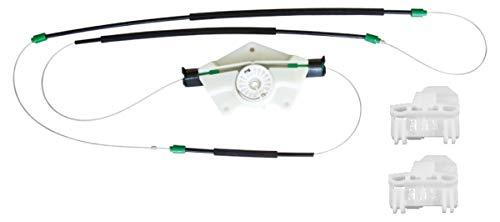 Bossmobil compatible con Passat (3B2 3B3 3B5 3B6), Delantero derecho, kit de reparación de elevalunas eléctricos
