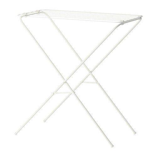 2 XIKEA Wäscheständer 'Jäll' Wäsche-Rack für drinnen und draußen - Trockenkapazität 6 m - BxTxH 40x79x82cm