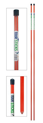 Tour Sticks Golf Alignment Stick (Orange)