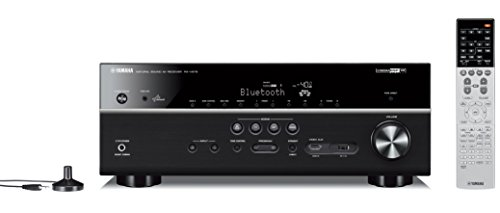 Yamaha RX-V679BL 7.2-Channel MusicCast AV Receiver with Bluetooth, Works with Alexa