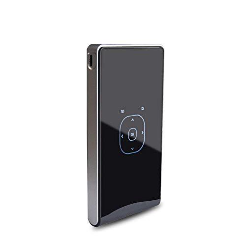 Proyector WiFi inalámbrico, compatible con pantallas de 1080p y 60 pulgadas, proyectores de películas portátiles de 2000 Mah con 20.000 horas de vida útil de la bombilla LED, compatible con Ps4, Hdmi,