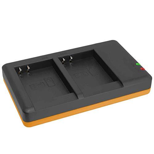 Cargador Doble (Corriente, USB) para EN-EL23 / Nikon Coolpix B700, P600, P610, P900, S810c / Fuente de alimentación Incluido