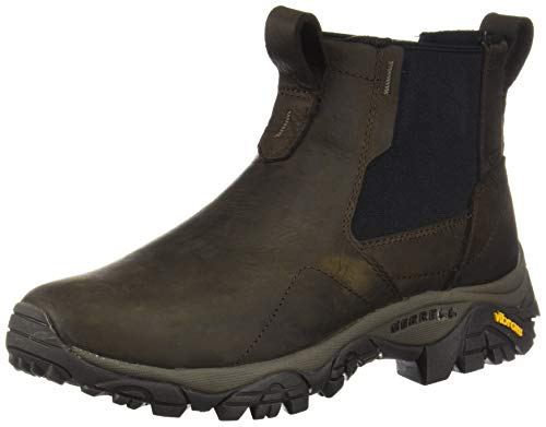 Merrell mens Moab Adventure Plr Wp Chelsea Boot, Brown, 8.5 Wide US