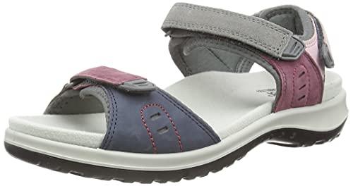 Hotter Women's Walk II Open Toe Sandals Mauve Multi 8 US Sandals