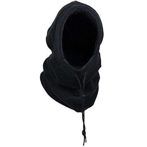 Cagoule thermique pour homme et garçon Taille unique - Noir - Taille unique