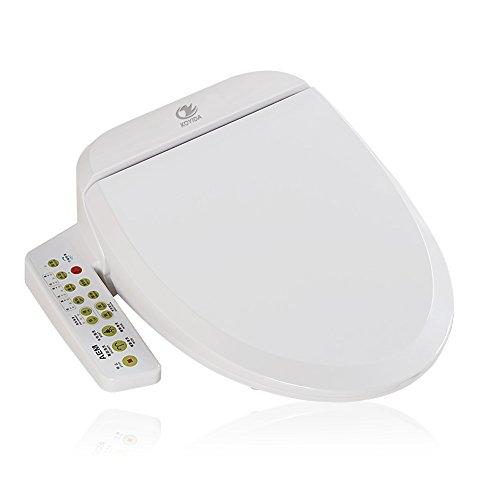 KOYIDA Blanco WC Inteligente Tapa del Inodoro eléctrico Digital, H01 V Tipo,...