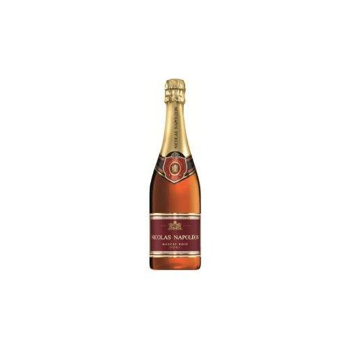 Nicolas Napoléon Sekt Muscat Rosé Doux vollfruchtig, mild und würzig 750ml