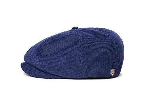 BRIXTON Brood Cord SNAP Cap Headwear, Patriot Blau, L