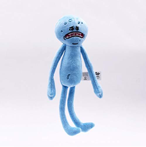 N/G Plüschtier Spielzeug Rick Und Morty Plüsch Peluche Spielzeug Rick Sanchez Morty Smith Herr Meeseeks Glücklicher Trauriger Wissenschaftler Gefüllte Puppe 25 cm