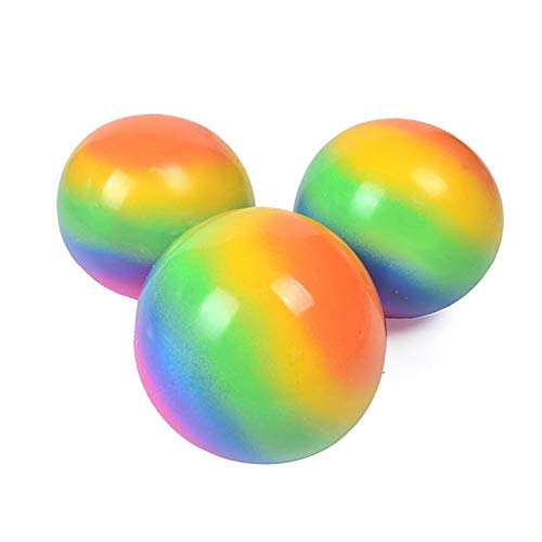 Ewha Sensory Fidgets Toys,Anti Stress Spielzeug,Sticky Balls - Globuli Stressbälle Druck Angst Linderung Spielzeug für Kinder und Erwachsene
