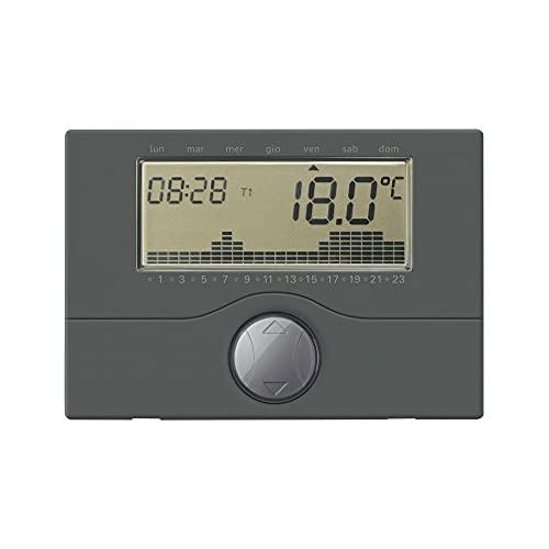 Interruptor horario digital diario/semanal empotrado antracita - GECA S.R.L. 32080928
