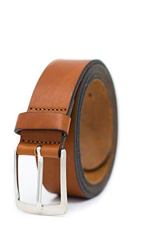 GREEN YARD Ledergürtel & Anzuggürtel Herren schwarz – EXTREM STABIL – 3,5 cm breit für Jeans aus 100% echt Leder