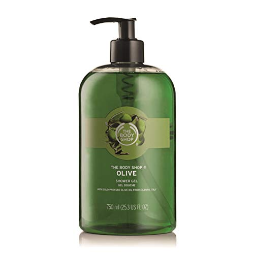 The Body Shop Olive Shower Gel Jumbo, 25.3 Fluid Ounces