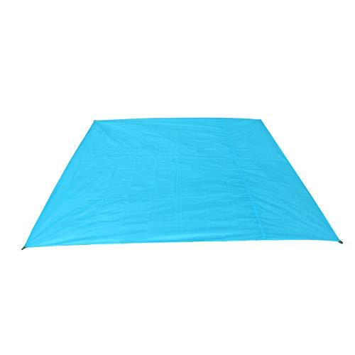 PENVEAT Bâche de protection imperméable pour matelas gonflable - Pour pique-nique, plage, camping, camping, baie - Bleu - 210 200