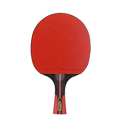 Review Of 5 Layers of Solid Wood Ping Pong Paddle,Professional Ping Pong Racket and a Protective Cov...