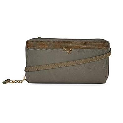 Baggit Autumn-Winter 2020 Faux Leather Women's Ziparound Wallet (Beige) (Judas)